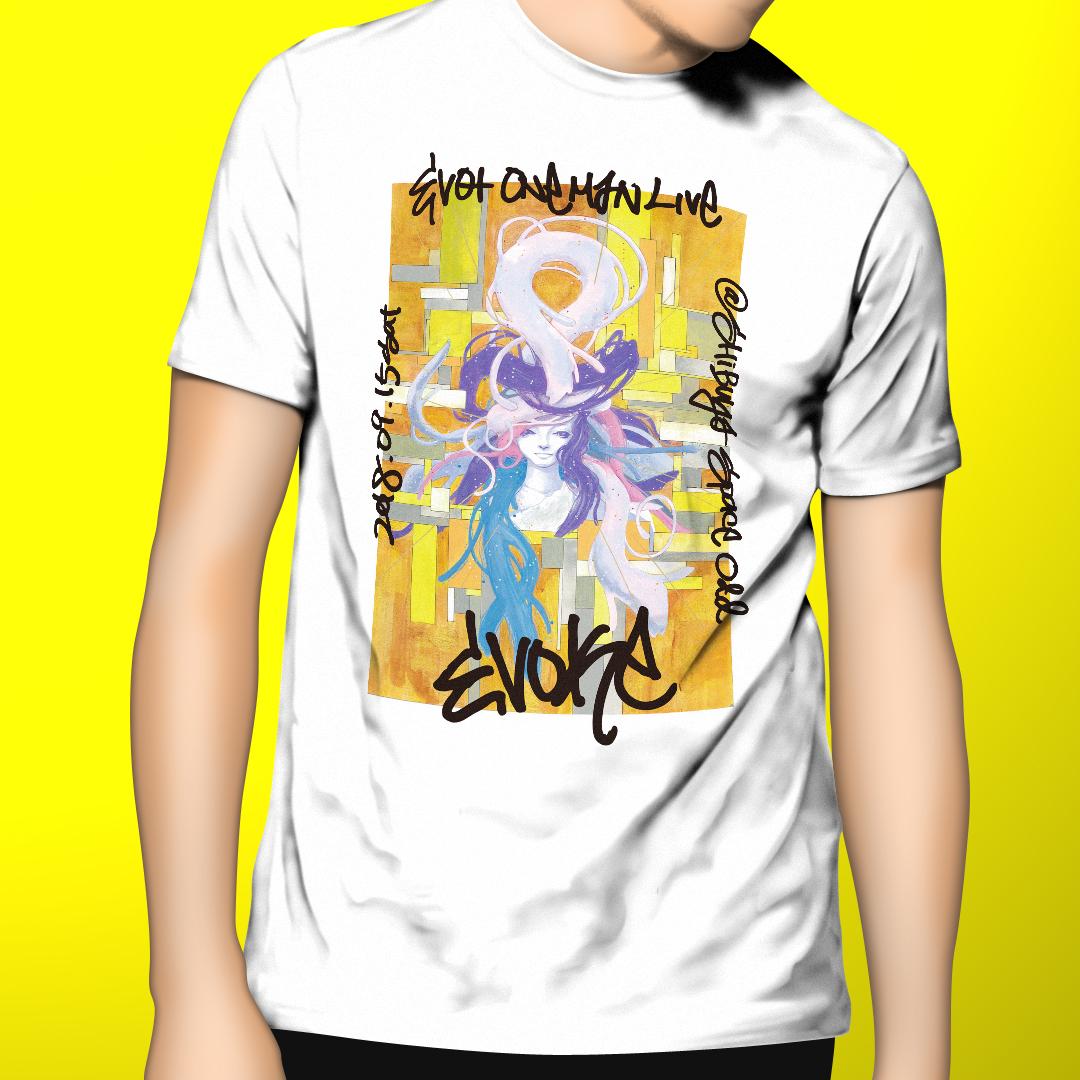 【完全受注生産】EVOKEオリジナルTシャツ